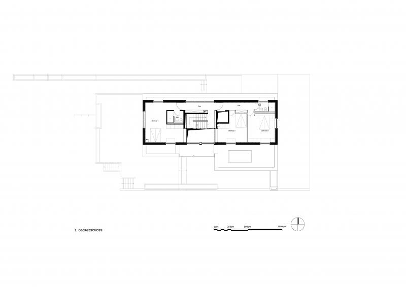 Grundriss des 1.Obergeschoss