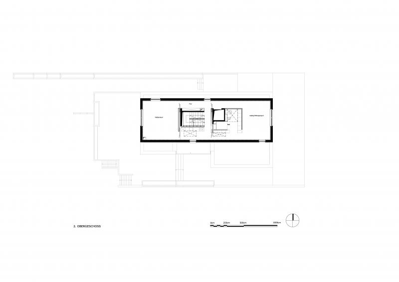 Grundriss des 2.Obergeschoss