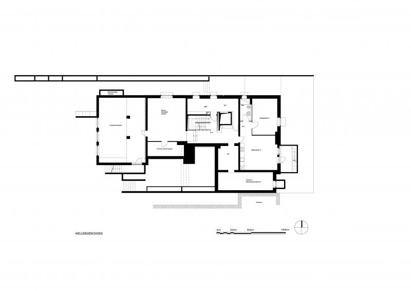 Grundriss des Kellergeschoss